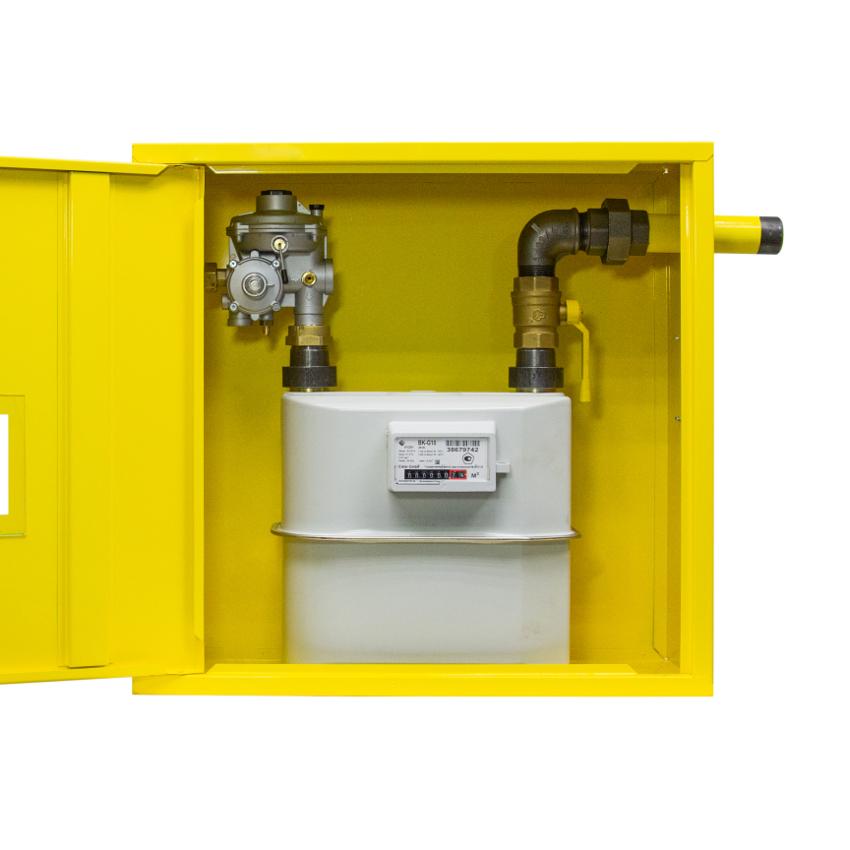 Новая модель ГРПШ Охта с местом под счетчик газа G10