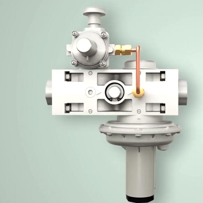 Комбинированный регулятор-стабилизатор давления КОМПАКТ